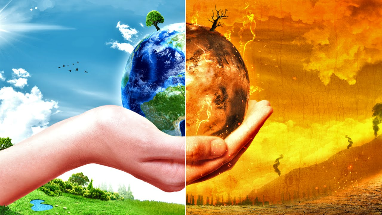 Climate change or Social change?