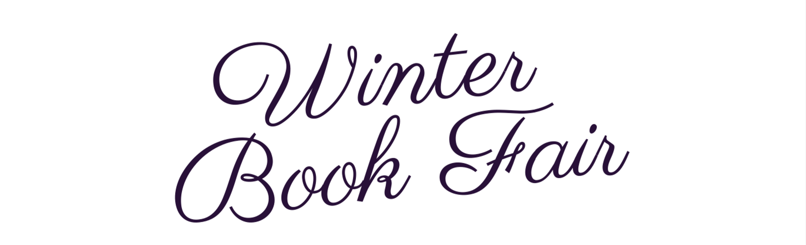 Winter Book Fair 2019