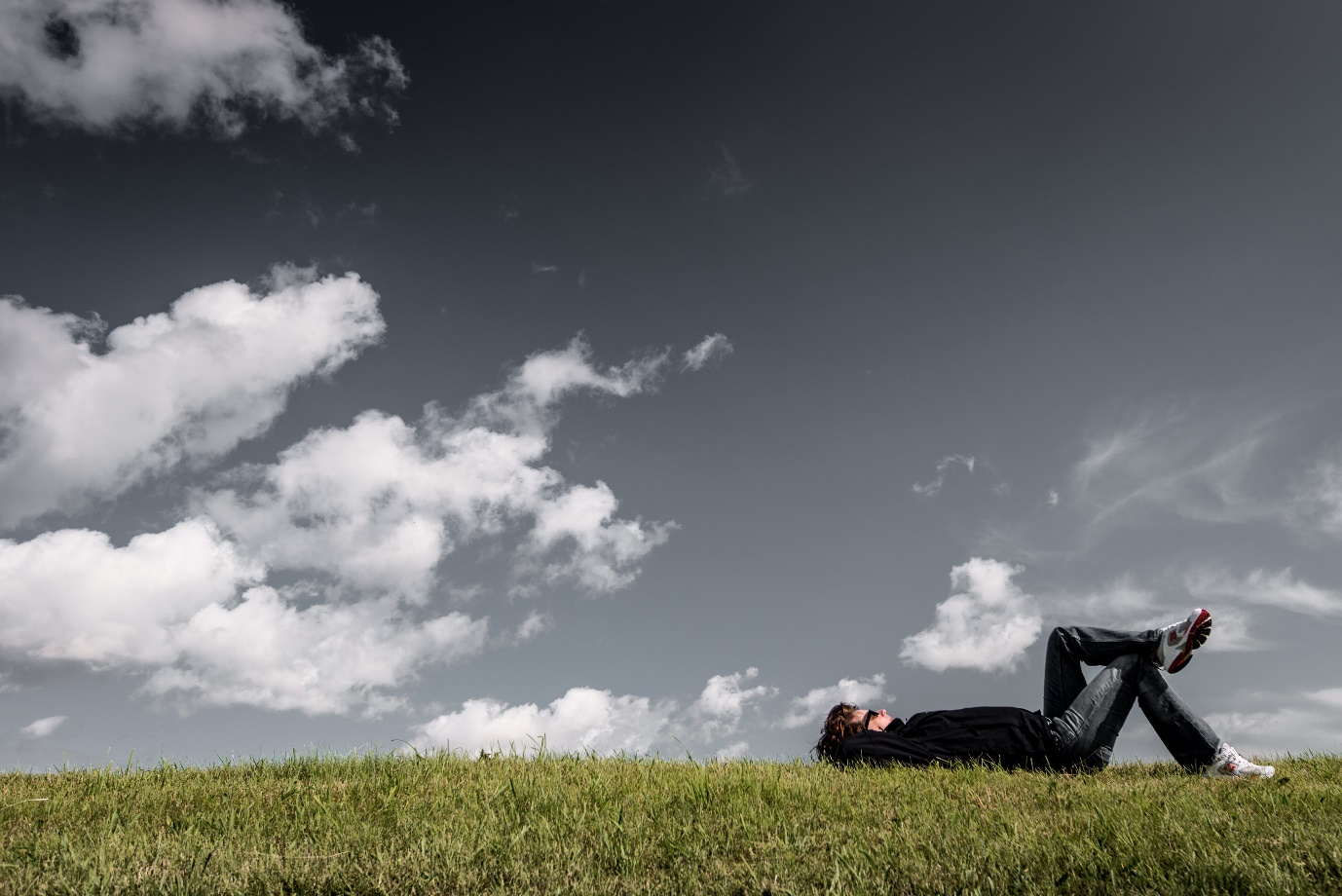 A picture containing sky, outdoor, grass, field Description automatically generated